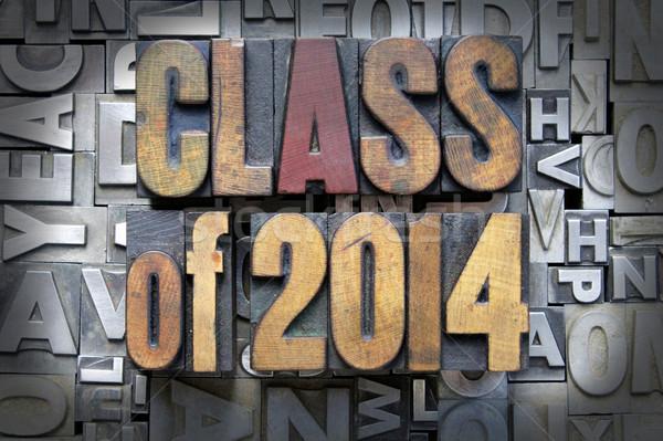 Stock photo: Class of 2014