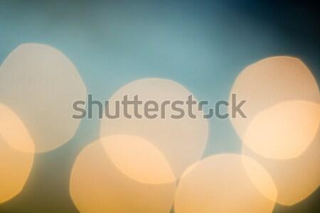 Abstrato luzes macio bokeh natal Foto stock © enterlinedesign