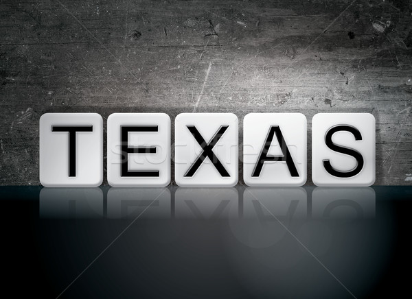 Texas Tiled Letters Concept and Theme Stock photo © enterlinedesign