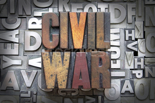 Civil War Stock photo © enterlinedesign