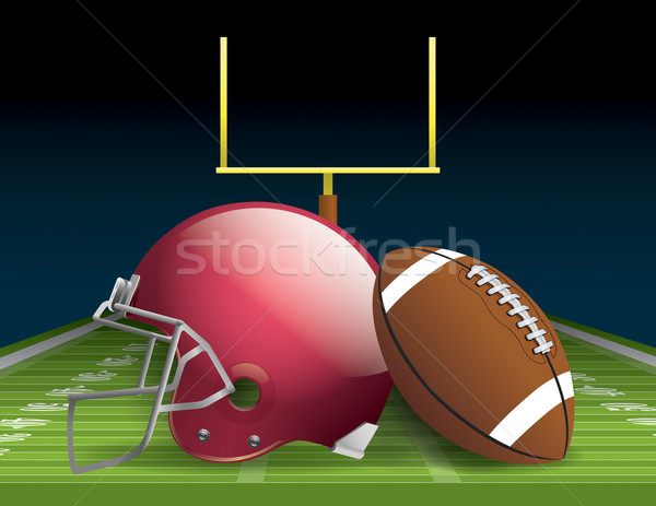 American Football Stock photo © enterlinedesign