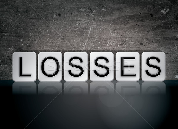 Losses Concept Tiled Word Stock photo © enterlinedesign