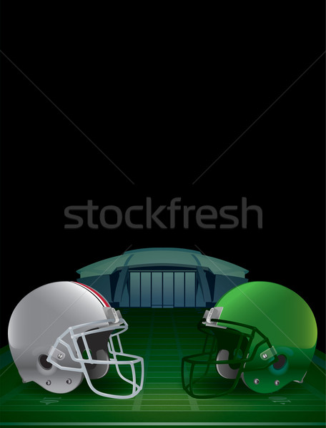 Stock photo: American Football Championship