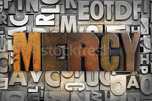 Mercy Stock photo © enterlinedesign