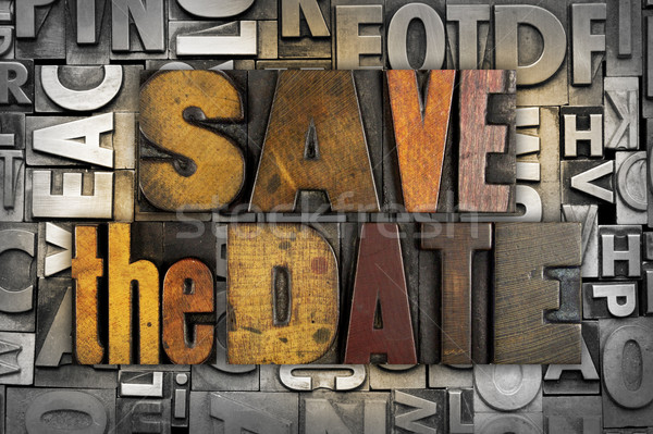 Save the Date Stock photo © enterlinedesign