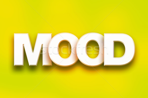 Mood Concept Colorful Word Art Stock photo © enterlinedesign