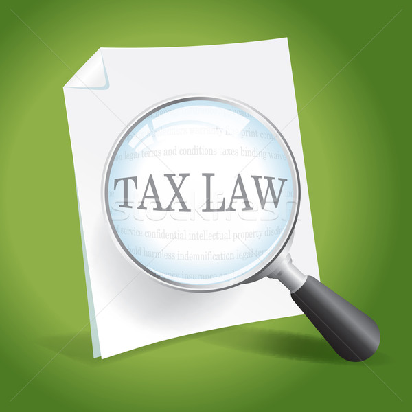 Examining Tax Law Stock photo © enterlinedesign