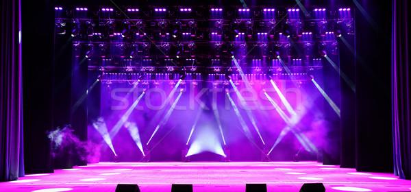 Concert stage Stock photo © Epitavi