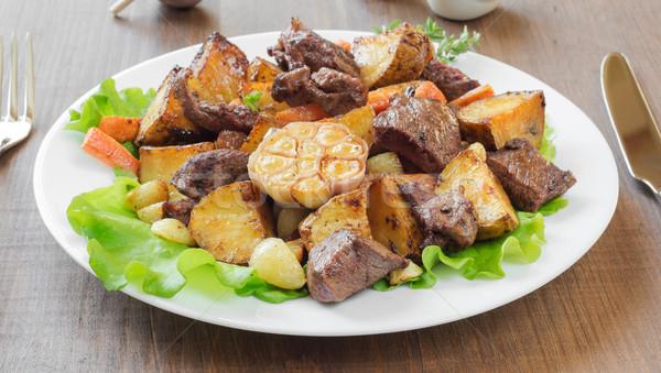 Roast with Vegetables Stock photo © Epitavi