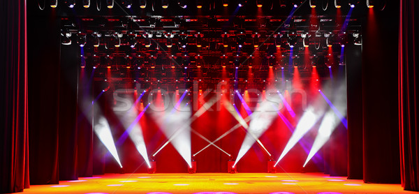 Stock photo: Concert stage