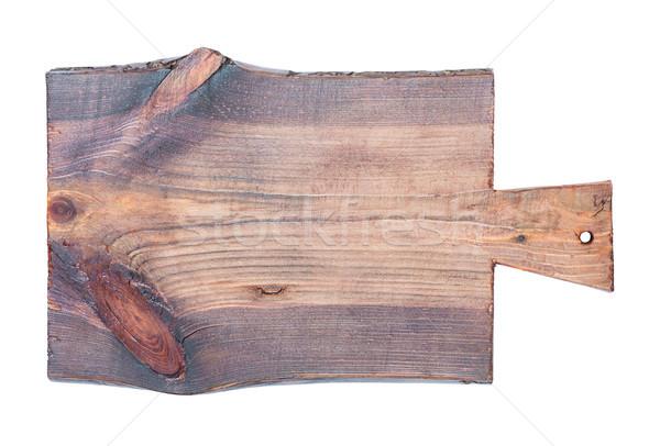 Old cutting board Stock photo © Epitavi