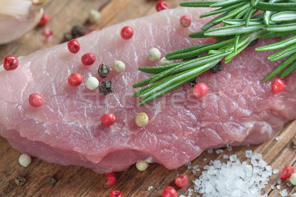Piece of meat Stock photo © Epitavi