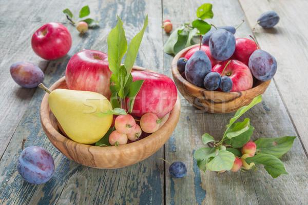 Stok fotoğraf: Zengin · hasat · farklı · meyve · karpuzu · birkaç