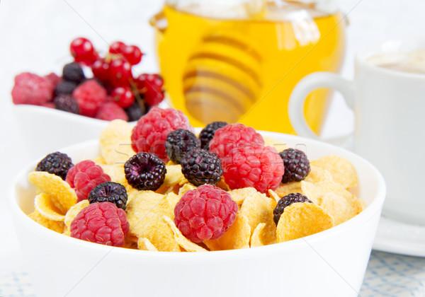 Stock photo: Light healthy breakfast