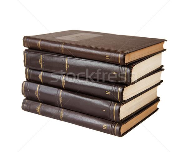 Stack of books Stock photo © Epitavi