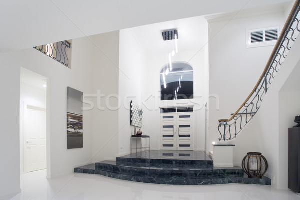 Luxury mansion entrance Stock photo © epstock