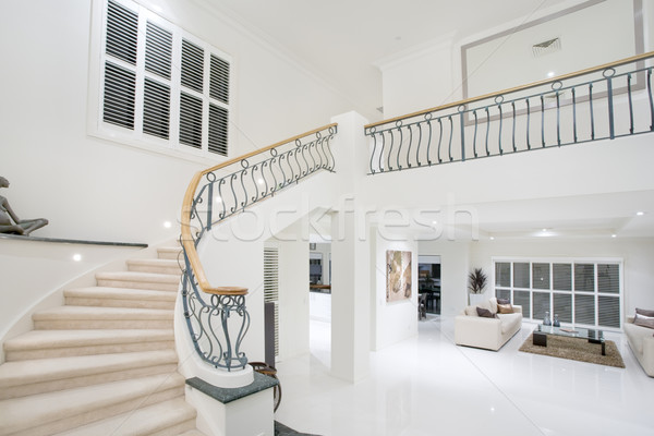 Luxury Mansion hallway Stock photo © epstock