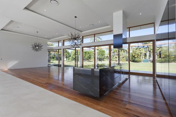 キッチン 生活 すごい 新しい 広々とした 邸宅 ストックフォト © epstock
