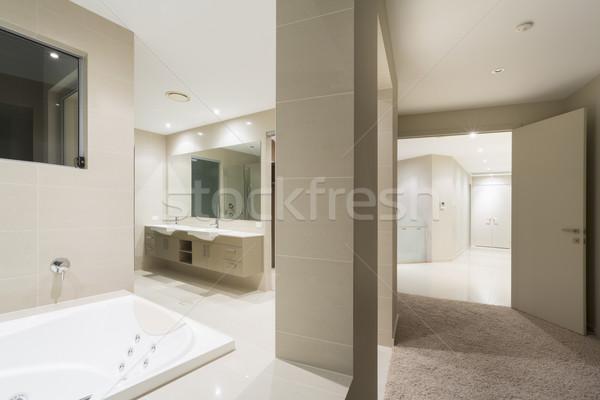 Master bedroom and bath Stock photo © epstock