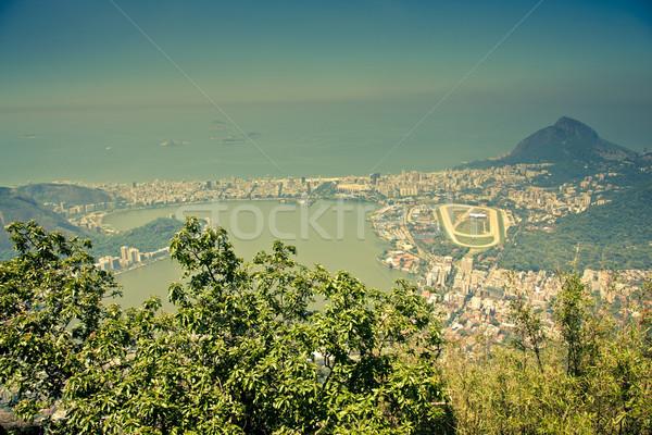 Rio de Janeiro Brasil férias turista cenário trio Foto stock © epstock