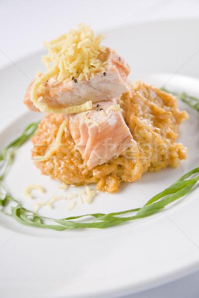 Tandoori Style Salmon Stock photo © epstock