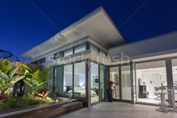 Luxury penthouse Stock photo © epstock