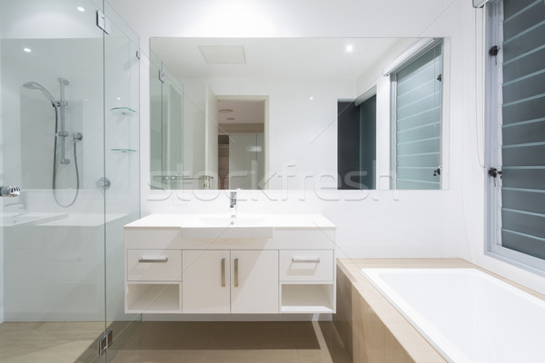 Modern bathroom Stock photo © epstock