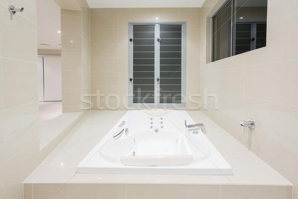 Сток-фото: Spa · современных · домой · роскошный · особняк · дома