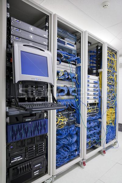 IT Communication Cabinets Stock photo © epstock