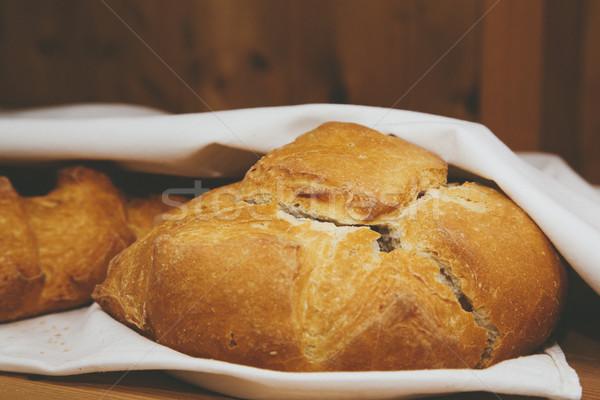 Rustic Bread Stock photo © epstock
