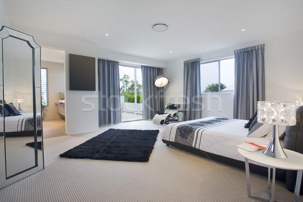 Master bedroom Stock photo © epstock
