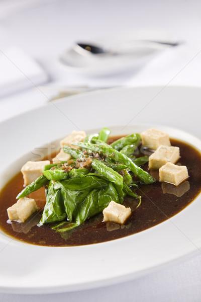 азиатских суп Тофу здоровья еды китайский Сток-фото © epstock
