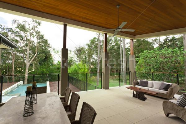 Stockfoto: Moderne · stijlvol · australisch · home