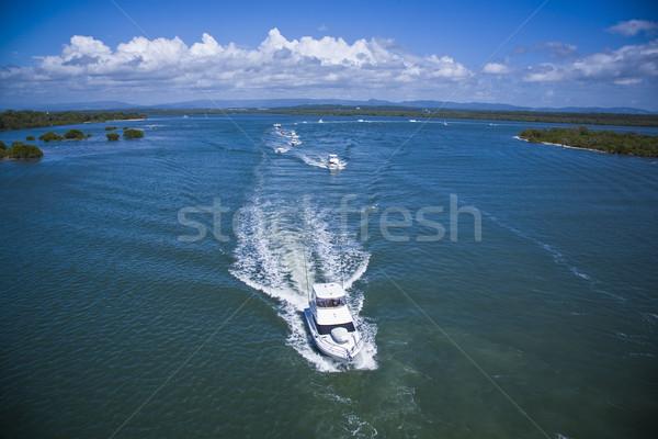 роскошный парусного морем многие красивой Сток-фото © epstock
