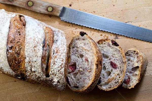 Walnoot brood brood Stockfoto © erbephoto