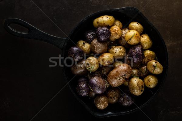 Baby gietijzer voedsel Stockfoto © erbephoto