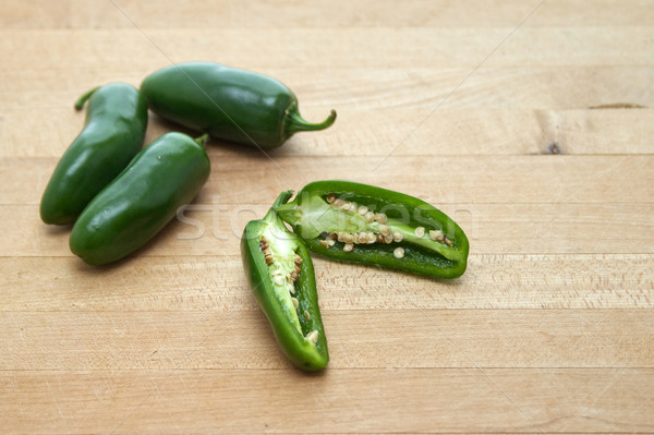 Jalapeno peppers Stock photo © erbephoto