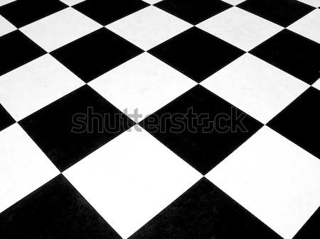 Checkerboard Stock photo © erbephoto