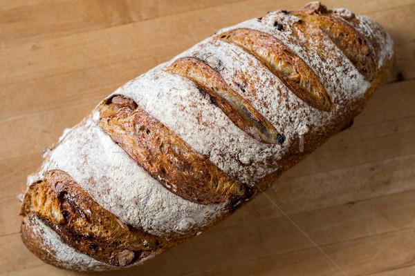 Walnoot brood brood vers Stockfoto © erbephoto