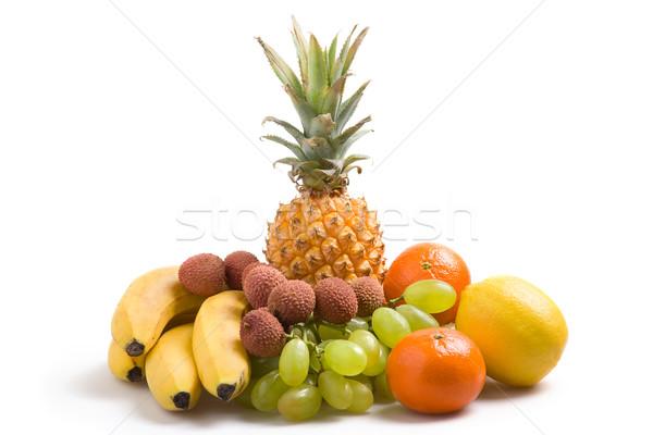 свежие плодов различный фрукты здоровья виноград Сток-фото © ErickN