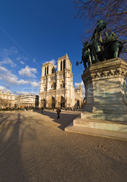 Notre-Dame de Paris Stock photo © ErickN