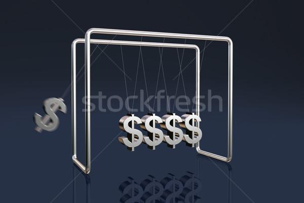 Dollars cradle Stock photo © ErickN