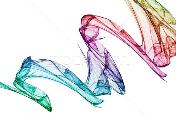 Résumé coloré 3D rendu fractal design Photo stock © ErickN