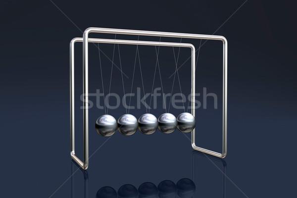 колыбель темно науки баланса Swing Сток-фото © ErickN