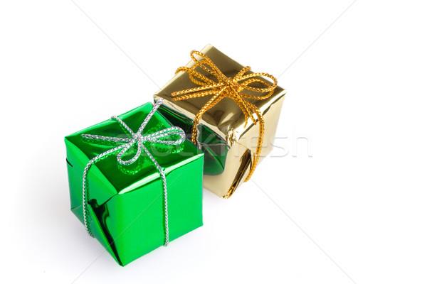 Stockfoto: Christmas · weinig · verjaardag · familie