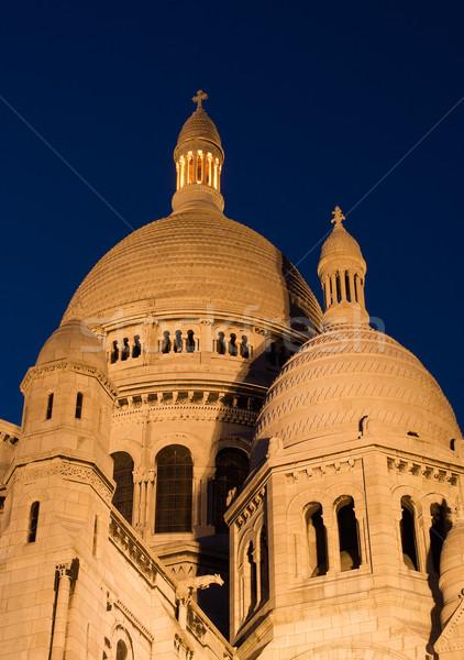 Kubbe tan görmek bazilika montmartre Paris Stok fotoğraf © ErickN