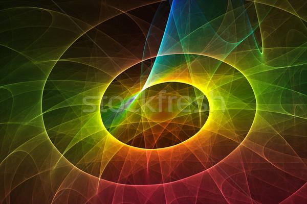 аннотация красочный 3D оказанный искусства цвета Сток-фото © ErickN