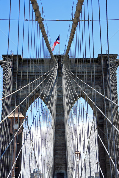 Brooklyn bridge Stock photo © ErickN