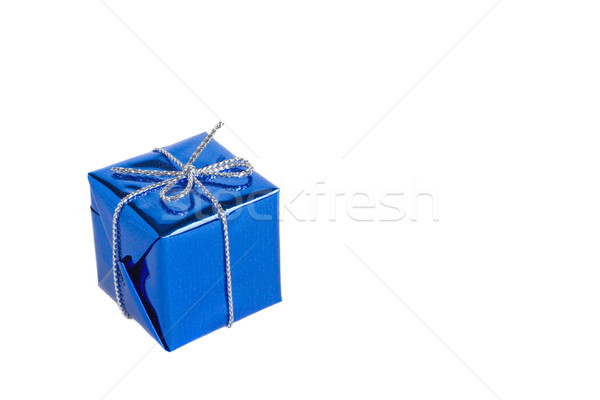 Noël coffret cadeau brillant peu anniversaire famille Photo stock © ErickN