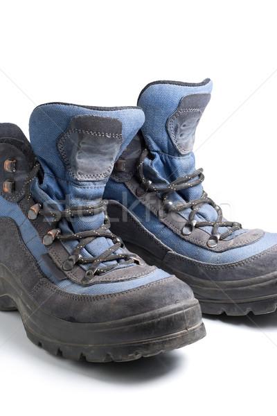 походов обувь пару синий горные ног Сток-фото © ErickN